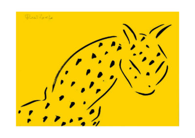 El leopardo espectante </br>2007