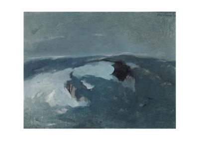 nº 31 San Vicente del Mar 2. 1974 Óleo sobre lienzo 54x70 cm.