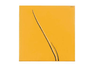 nº 154 Sin tiítulo 2006 Técnica mixta sobre lienzo 180x180 cm