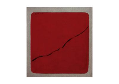nº157 Tarde en Levante 1999 Técnica mixta sobre lienzo 84x76cm