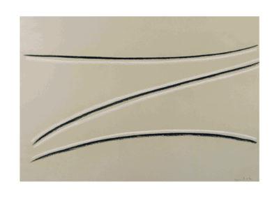 nº135 Sin título 2001 Pastel sobre papel 75x110 cm