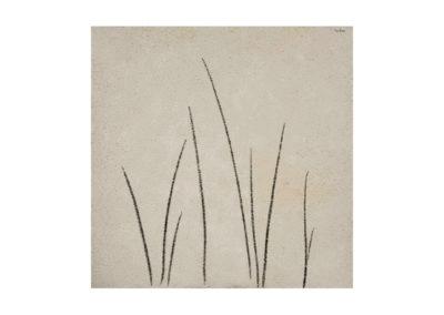 nº 180 Sin título. 2008 Técnica mixta sobre lienzo 195 x 195 cm