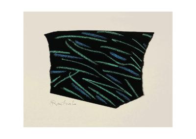 nº182 Última grafía 2009 Pastel sobre papel 19x26 cm