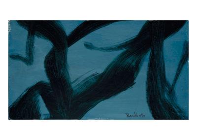 Árboles 1987 Acrílico sobre lienzo 40x55 cm