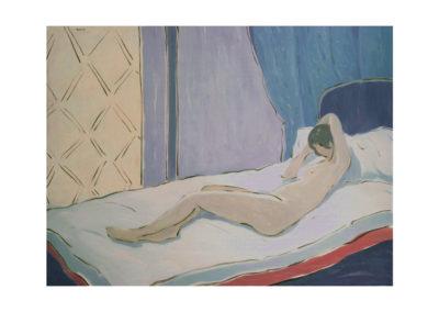 nº 47 La Venus de Pontevedra. 1986 Óleo sobre lienzo 150x200 cm.