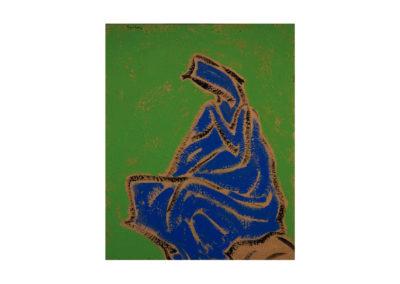 El descanso de la madre 1993 Acrílico sobre lienzo 100x81 cm