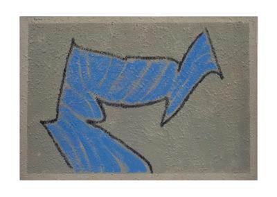 nº 107 Figura. 1994 Técnica mixta sobre lienzo 125x195 cm