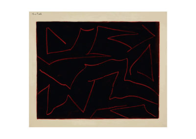 Vuelos 1995 Acrílico sobre papel cansson 100x120 cm