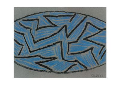 Sin título1994 Carbón y sobre papel 50x65 cm