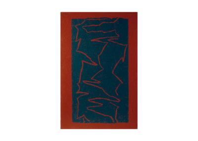 Entrelazadas formas 1995 Técnica mixta sobre lienzo 195x130 cm