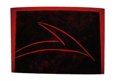 nº 137 Medianoche 1999 Técnica mixta sobre lienzo 210x300 cm