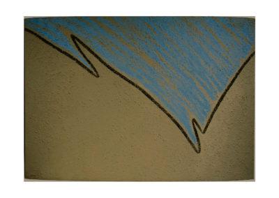 nº 139 Sueño azul 1999 Técnica mixta sobre lienzo 210x300 cm