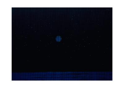 Constelación 2017 Acrílico sobre cartón rugoso 149x210 cm