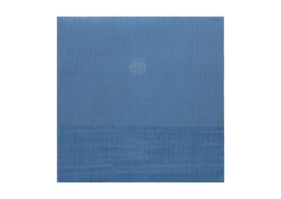 El amanecer sobre el mar en invierno. 2017 Acrílico sobre cartón rugoso 151x150 cm
