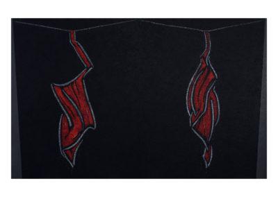 Homenaje a Rembrant, 2012 Tecnica mixta sobre lienzo 250x400cm