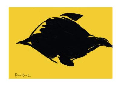 Placocentus 2008 Tinta china sobre papel 30x42cm