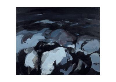 nº 33 San Vicente del Mar 4. 1974 Óleos sobre lienzo 81x100 cm